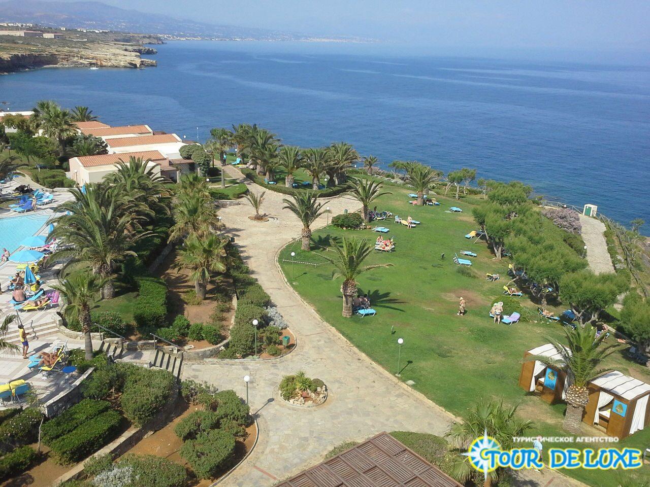 Фото бассейн и пляж из фотогалереи без названия отель iberostar mirabello beach 4* греция , крит